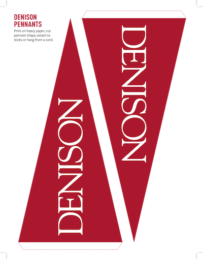 Denison Pennants